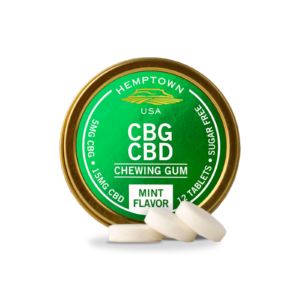 CBG and CBD Gum