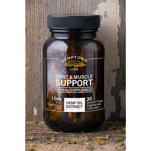 Joint and Muscle Support - Buy CBG (Cannabigerol) Oil and Hemp Oil Products