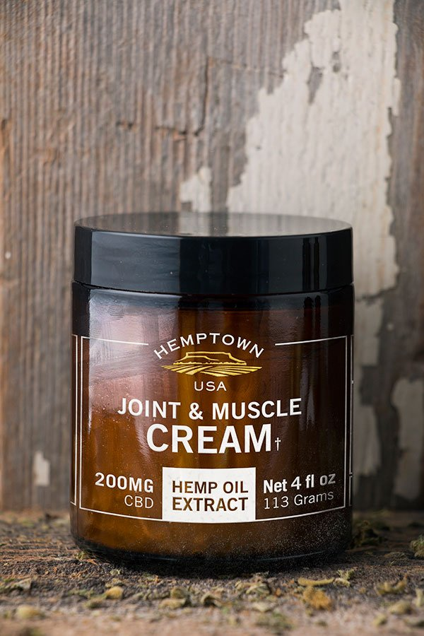 Joint and Muscle Cream - Buy CBG (Cannabigerol) Oil and Hemp Oil Products