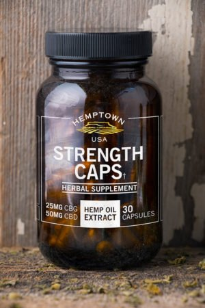 CBG Strength Caps