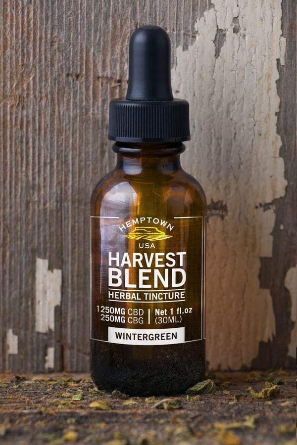 Harvest Blend Tincture - Buy CBG (Cannabigerol) Oil and Hemp Oil Products