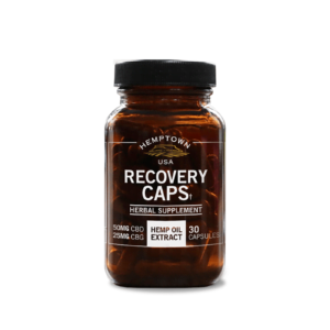 Recovery Caps with CBD & CBG