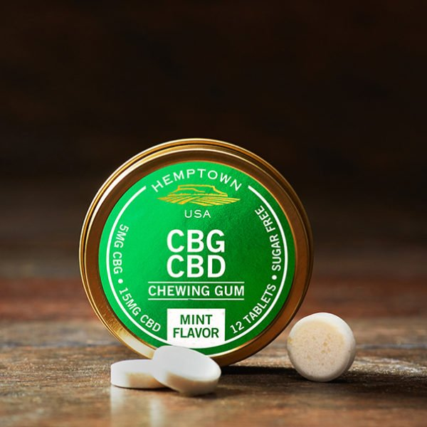 Buy CBG CBD Chewing Gum