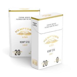 Hemptown Naturals Light Hemp Stix